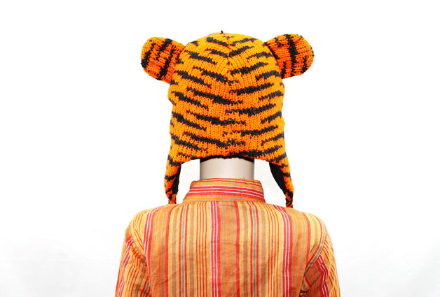 Gefütterte Mütze TIGER