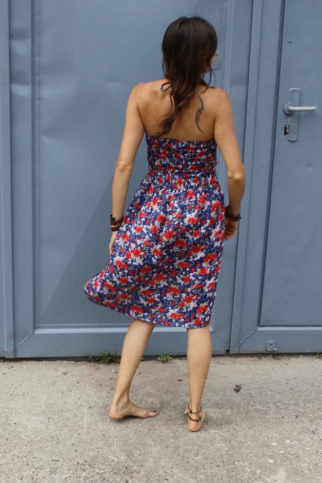 Kleidchen & Rock FLOWERS Damen Blau