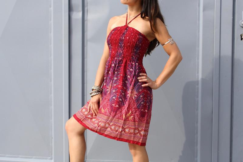 Kleidchen & Rock PAISLEY Damen Rot