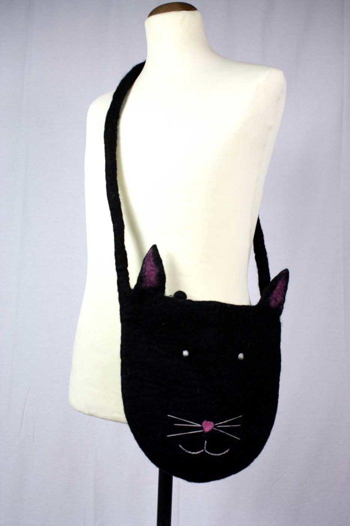 Umhängetasche KITTY Für Sie schwarz