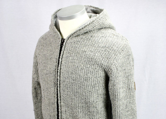 Wolljacke URBAN LIGHT Herren Grau