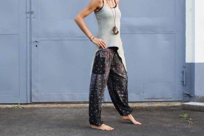 Luftige Pumphose Yogahose Damen