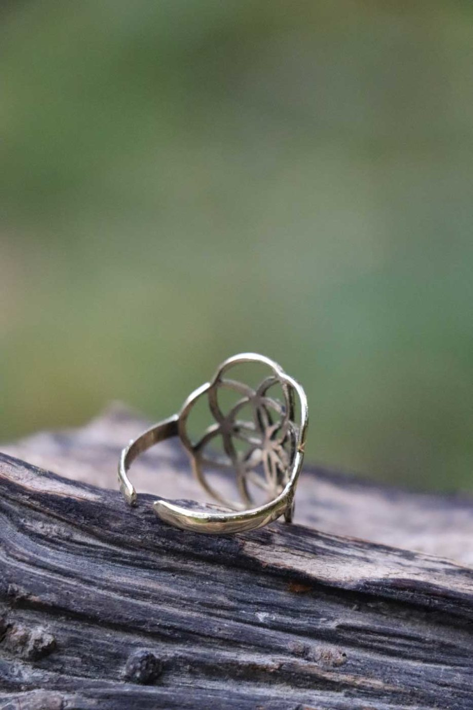 Ring SEED OF LIFE  Gold