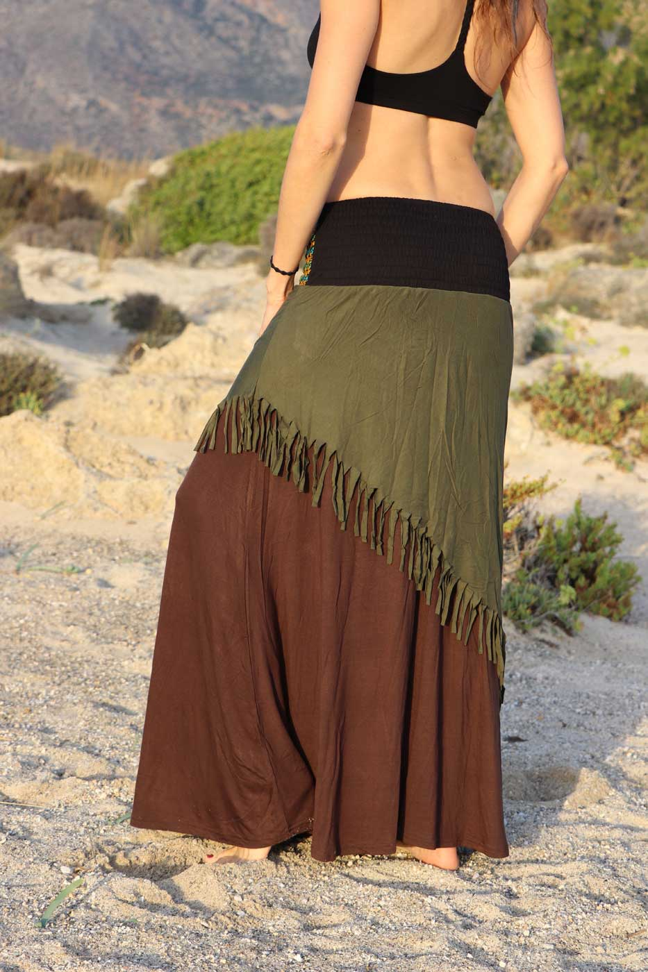 newest fd6ac 74e24 Tribal Rock MAHAJI Damen Braun | Grün