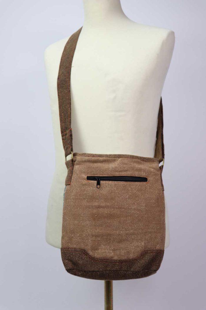 Ethno-Tasche MAYUR Unisex beige | pastell