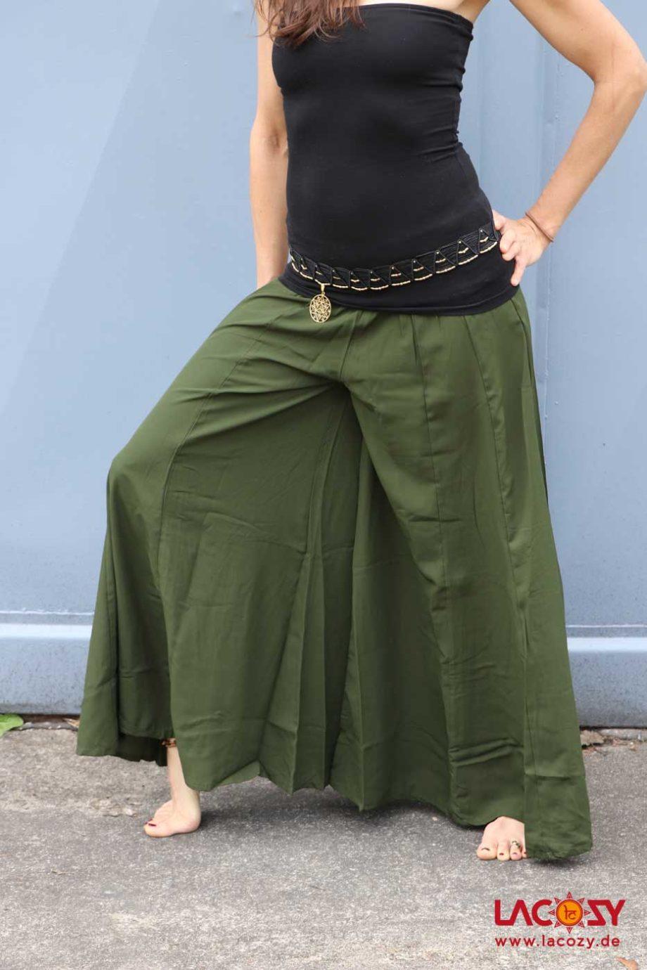 Luftig leichter Hosenrock HEAVON Damen KHAKI
