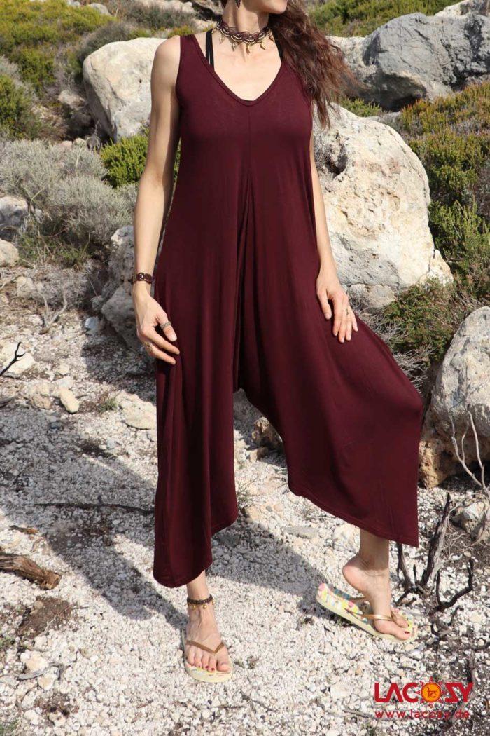 Overall/Jumpsuit Damen Bordeaux