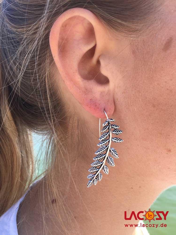 Ohrhänger WINES  Silber