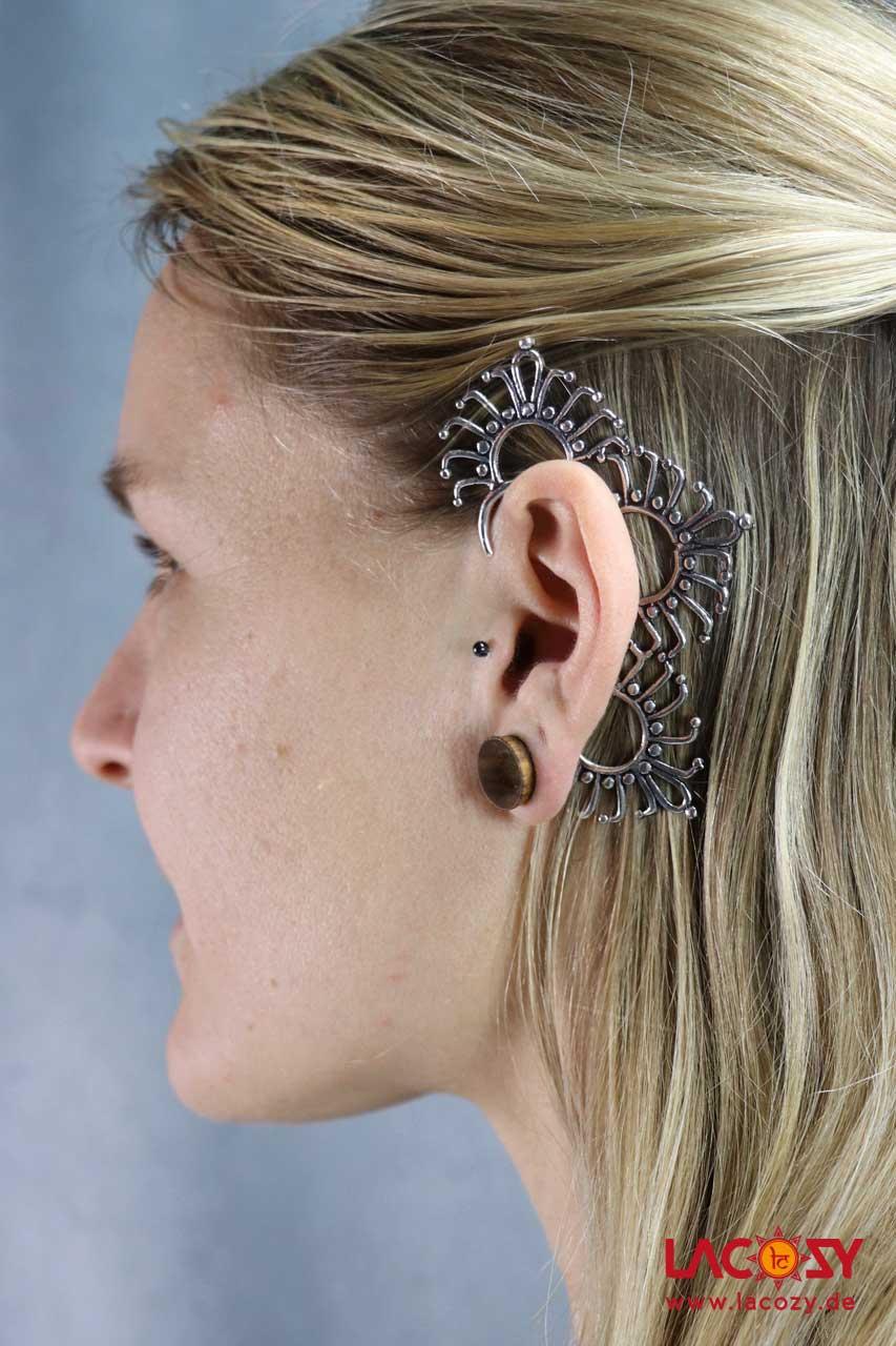 Ohr Manschette  Elfen Ohrring  ELFE  Silber
