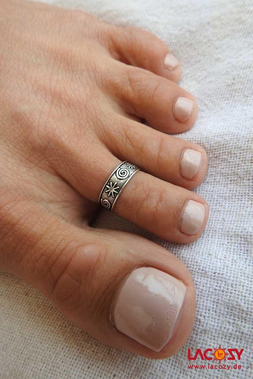 Zehenring UNISA  925 Silber