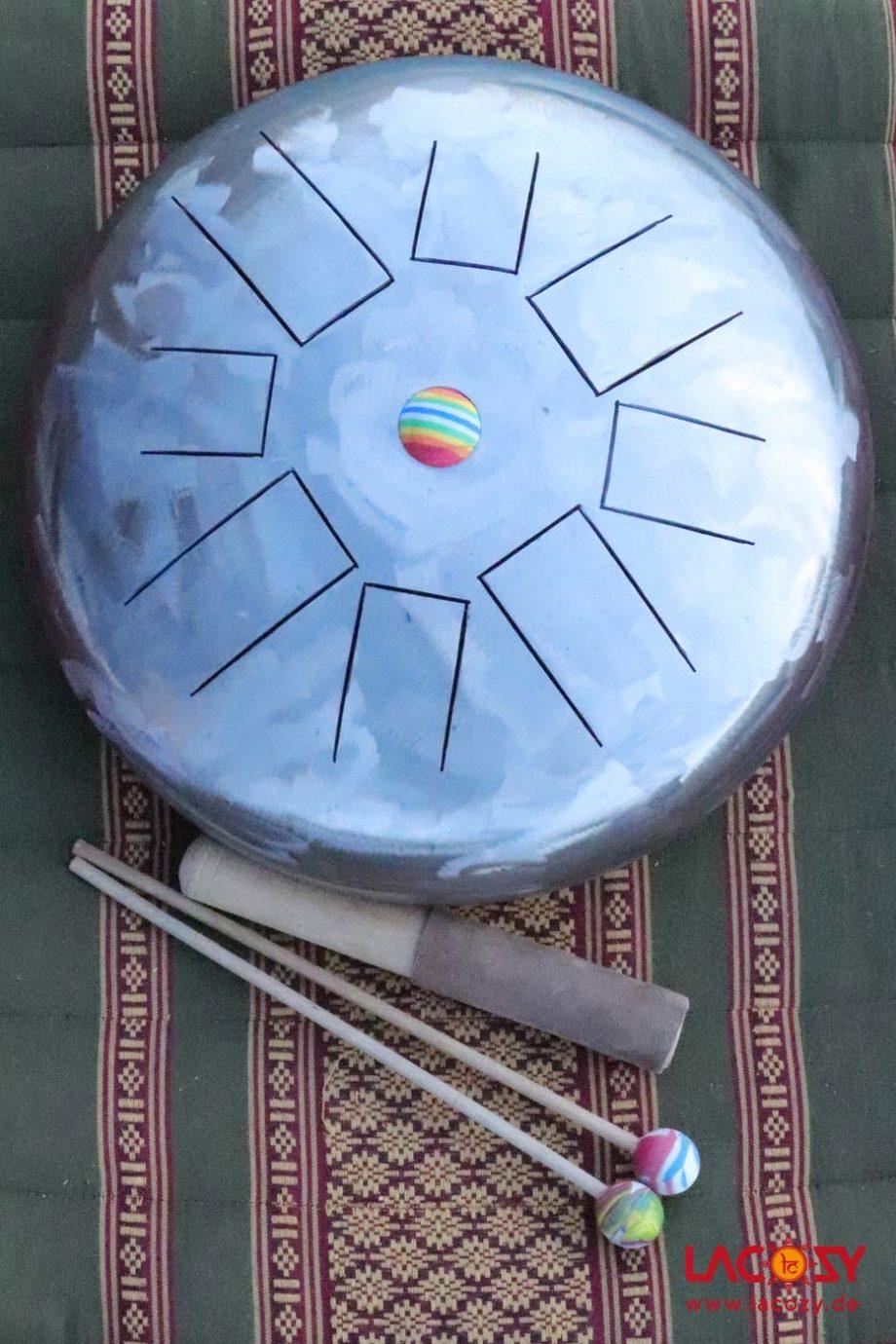 3-in-1 Tongue Drum – Gong – Klangschale