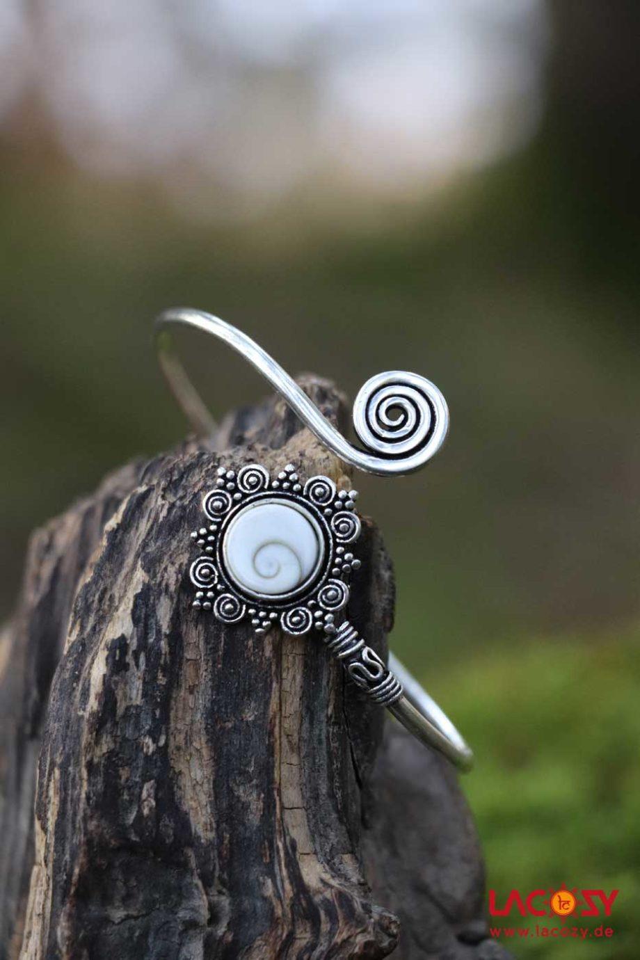 Armreif SHIVA AUGE  Silber | Shiva Auge