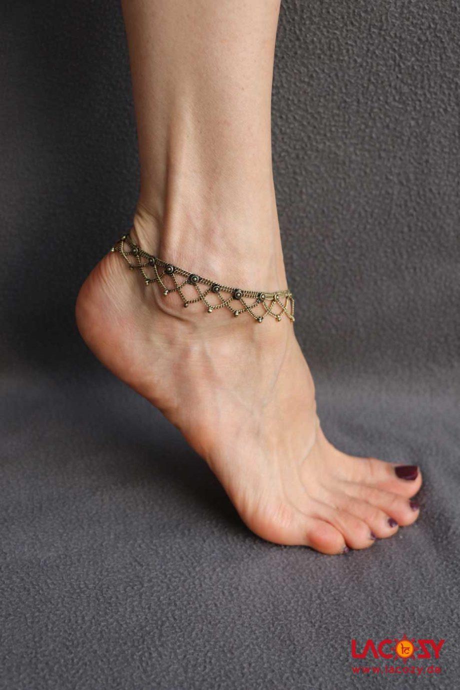 Fußkettchen SUNRISE  Gold